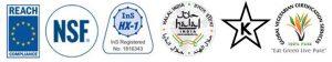 BioEstolide Certification Logos