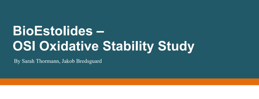 BioEstolide White Paper Oxidative Stability